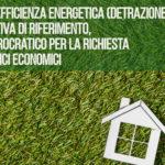 Bonus efficienza energetica (detrazione 65%)